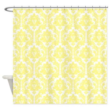 Sheer Shower Curtains Yellow