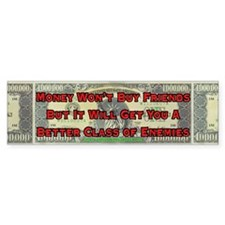 Better Enemies Bumper Car Sticker