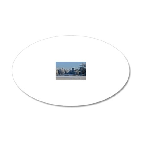 Dromoland Castle 20x12 Oval Wall Decal