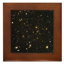 10,000 Galaxies Universe Core Framed Tile