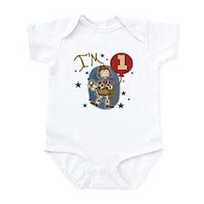 Cowgirl 1st Birthday Infant Bodysuit