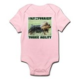 Yorkie Agility Infant Bodysuit