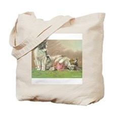 Cute Pink kitty Tote Bag