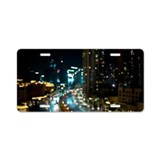 Night Lights Aluminum License Plate