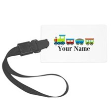 Personalizable Train Cartoon Luggage Tag