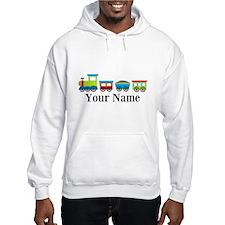 Personalizable Train Cartoon Hoodie