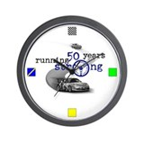 50th Anniversary Wall Clock