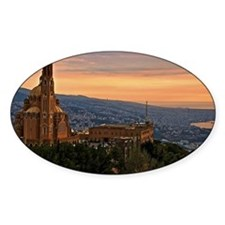 Beirut from Harissa Decal