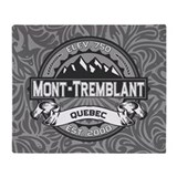 Mont-Tremblant Grey Throw Blanket