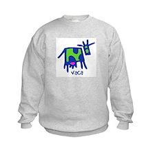 vaca kids sweatshirt