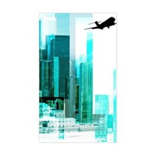 Airplane by city Decal