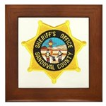 Sandoval Sheriff Framed Tile