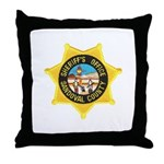 Sandoval Sheriff Throw Pillow