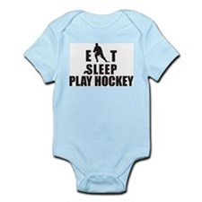 Eat Sleep Play Hockey Infant Bodysuit