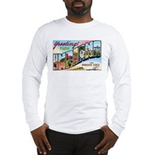 Indiana Greetings (Front) Long Sleeve T-Shirt