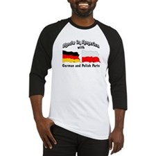 German & Polish Parts Baseball Jersey