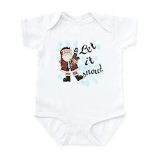 Santa Let it Snow Infant Bodysuit