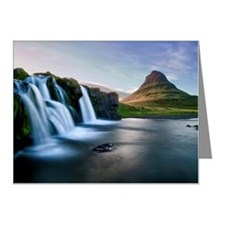 Kirkjufellsfoss waterfall Note Cards (Pk of 10)