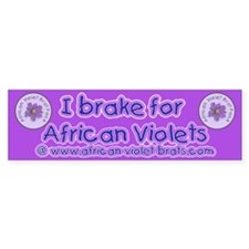 I brake for AV's Bumpersticker