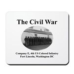 Fort Lincoln Civil War Infantry Mousepad