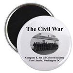 Fort Lincoln Civil War Infantry Magnet