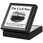 Fort Lincoln Civil War Infantry Keepsake Box