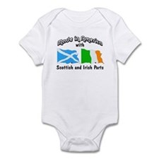 Scottish & Irish Parts Infant Bodysuit