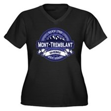 Mont-Tremblant Midnight Women's Plus Size V-Neck D