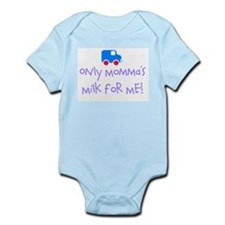 Boys Momma Milk Infant Creeper