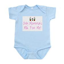 Girls' Momma Milk Infant Creeper