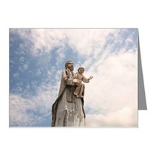 St. Joseph one of most popul Note Cards (Pk of 20)