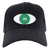 In Green Dot Baseball Hat