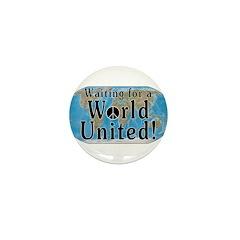 World Citizen Mini Button