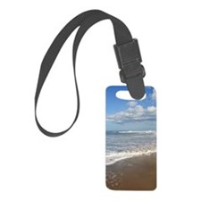 Waves at the beach Luggage Tag