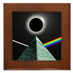 Eclipse over Pyramid Framed Tile