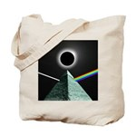 Eclipse over Pyramid Tote Bag