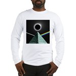 Eclipse over Pyramid Long Sleeve T-Shirt