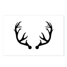 Deer antlers Postcards (Package of 8)