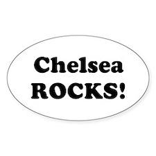 Chelsea Rocks! Oval Decal
