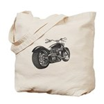 Custom Motorcycle, Hole shot Tote Bag