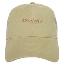 """Mrs. Cool J"" Design with GurlzRule!'s logo on Baseball Cap"