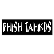 Phish Tahkos Band Bumper Car Sticker