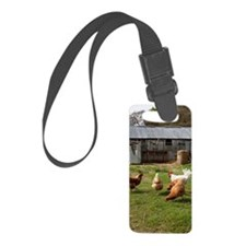 Chickens Luggage Tag