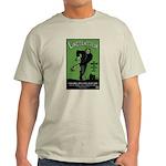 Strk3 Lincolnstein Ash Grey T-Shirt