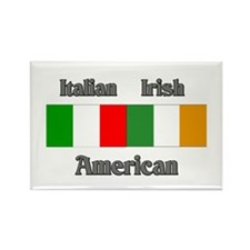 Italian Irish American Rectangle Magnet (100 pack)
