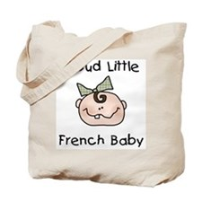 French Baby (Girl) Tote Bag