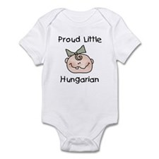 Little Hungarian(Girl) Infant Bodysuit