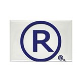 Everything's Trademarked Rectangle Magnet (10 pack