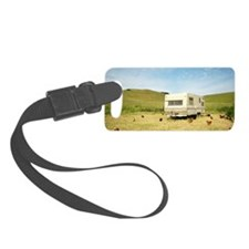 Chickens and Trailer Luggage Tag
