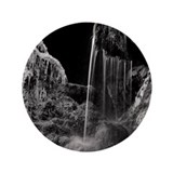"Water fall in Saulgrub,  Ba 3.5"" Button (100 pack)"